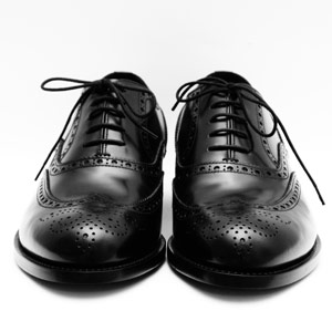 black dress shoes