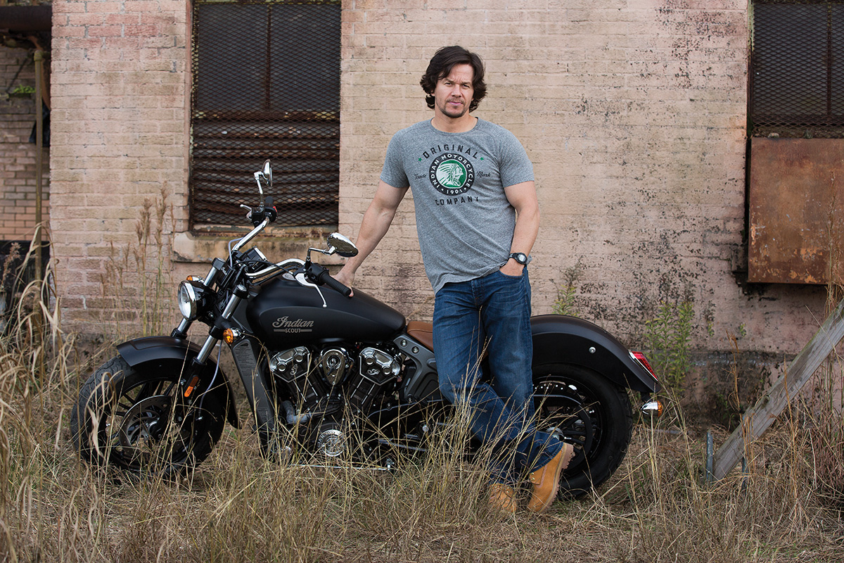 Mark Wahlberg Interview Indian Motorcycles Brand Ambassador