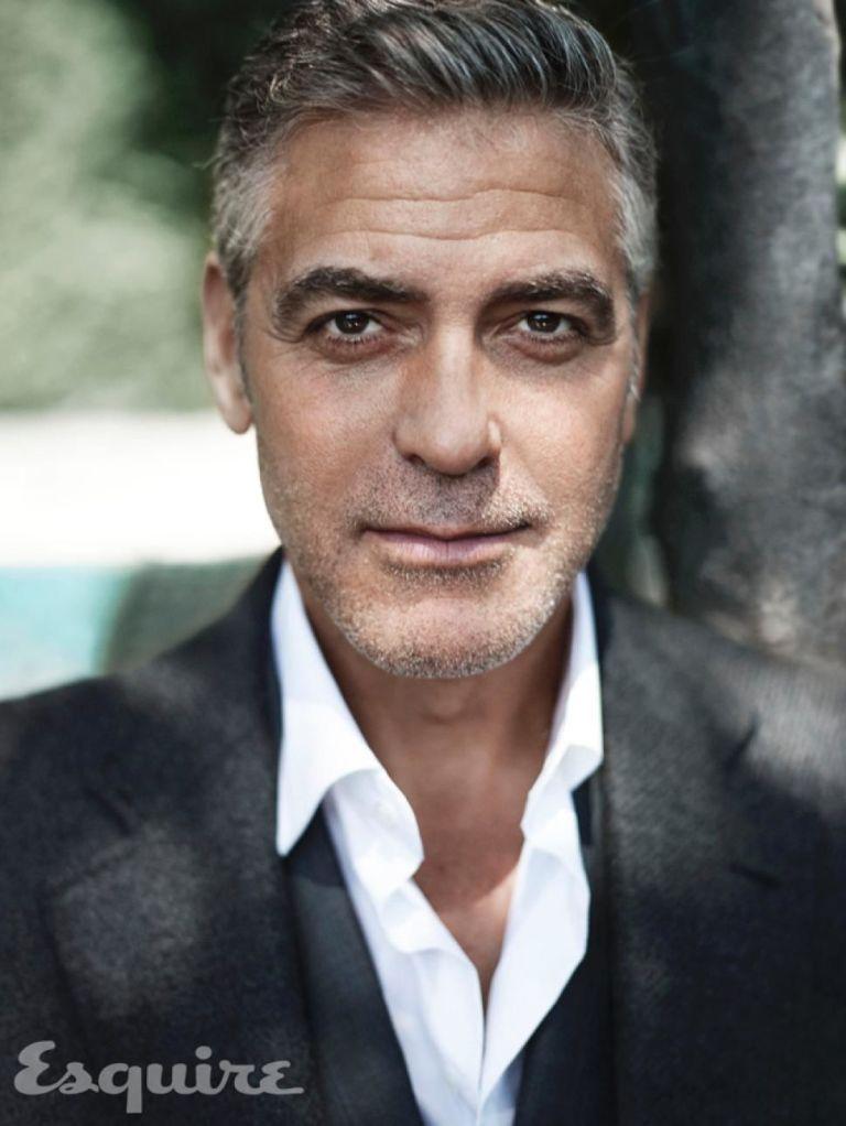 George Clooney Interview - George Clooney Talks About Matt Damon ...