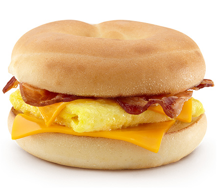 egg mcmuffin calories no cheese