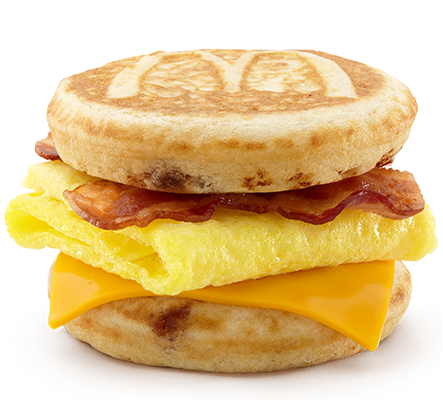 bacon egg and cheese mcgriddle