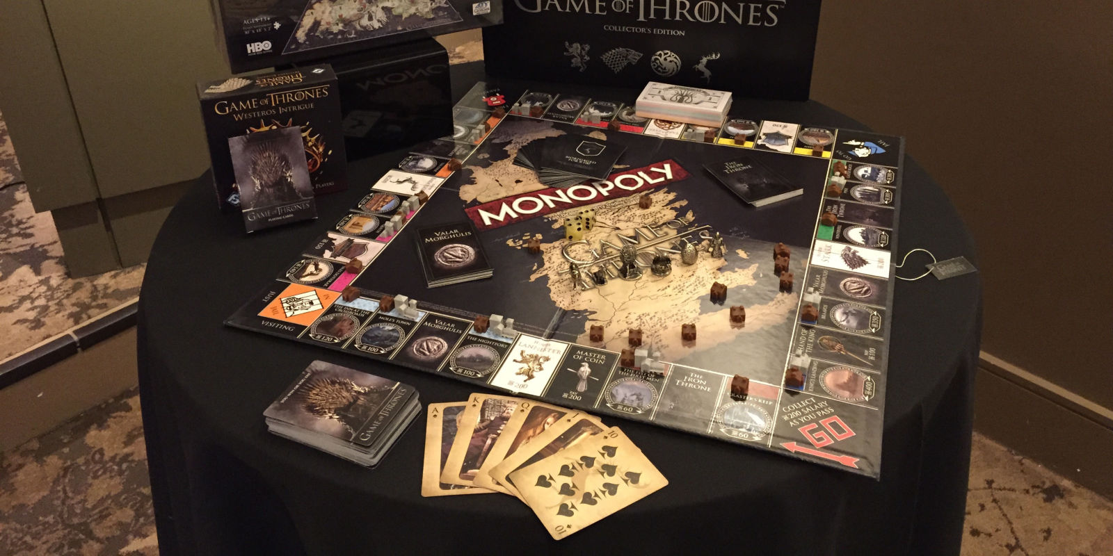 game of thrones merchandise game of thrones beer monopoly. Black Bedroom Furniture Sets. Home Design Ideas