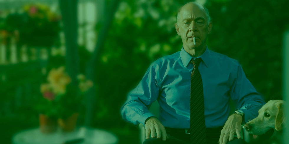 JK Simmons Smoking Weed