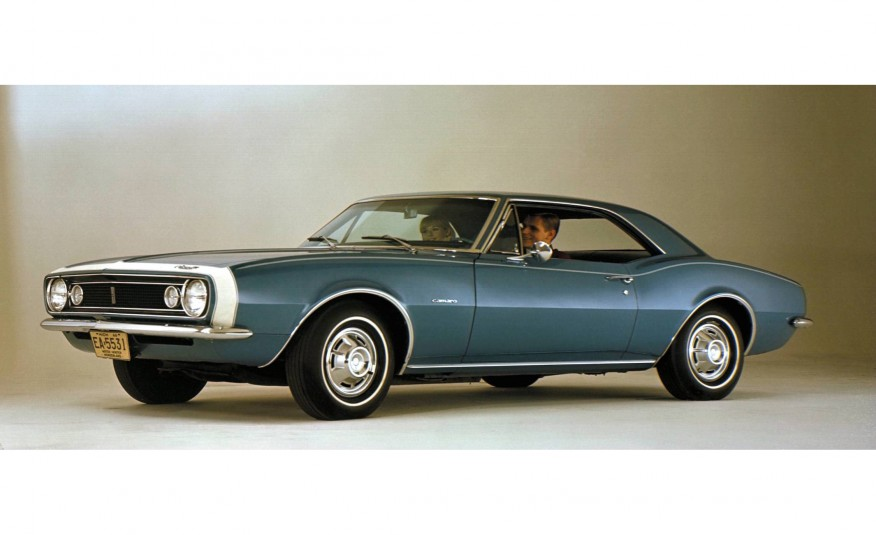 50 Years Of The Chevy Camaro In Pictures
