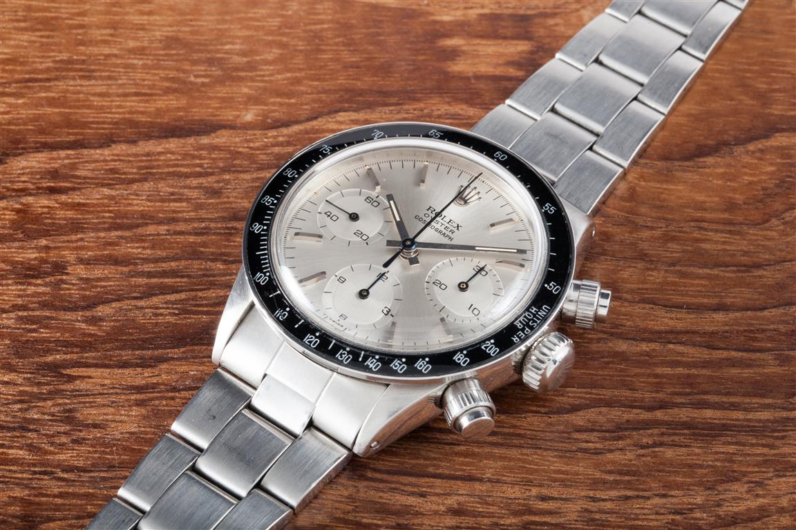 Eric Clapton's Rolex Sets World Record For Auction Price ...