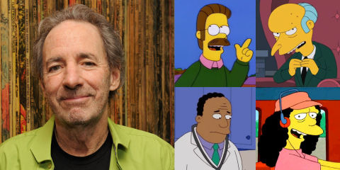 Harry Shearer, voice of Ned Flanders and Mr. Burns ...  Harry Shearer Simpsons