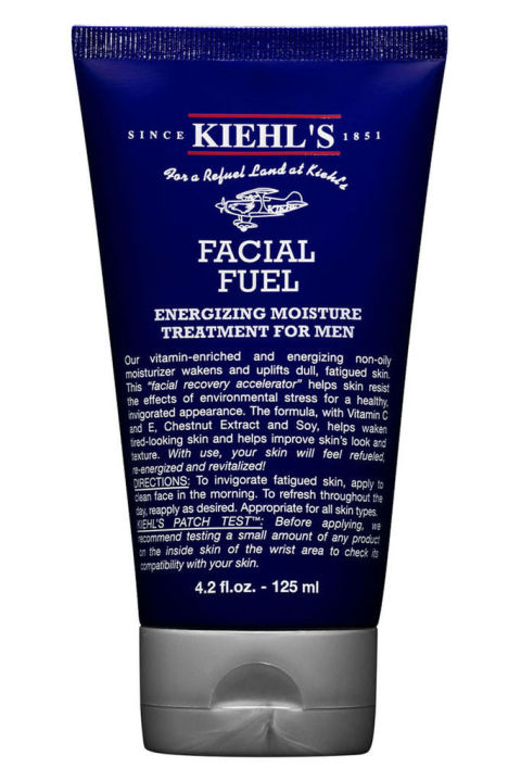 Yes, even rugged old dad might want to consider a moisturizer now, if not for vanity then for comfort. This scent free wonder from Kiehl's will keep is skin hydrated, clean, and fresh.<br /> Facial fuel vitamin-enriched facial moisturizer ($25) by Kiehl's, kiehls.com</p> <p>