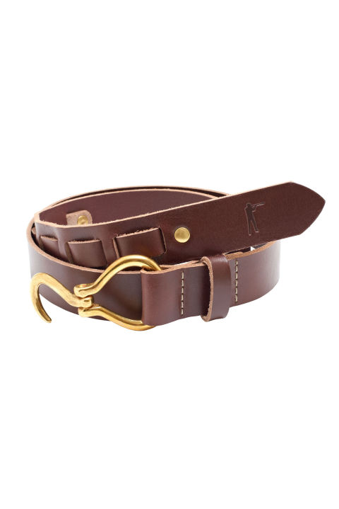 The hoof pick belt is both unusual and unimpeachably traditional, which makes it a perfect gift for dad. Especially when it's made in the U.S.A., like this one from Ball and Buck.<br /> Brown leather hoof pick belt ($118) by Ball and Buck, ballandbuck.com<br />