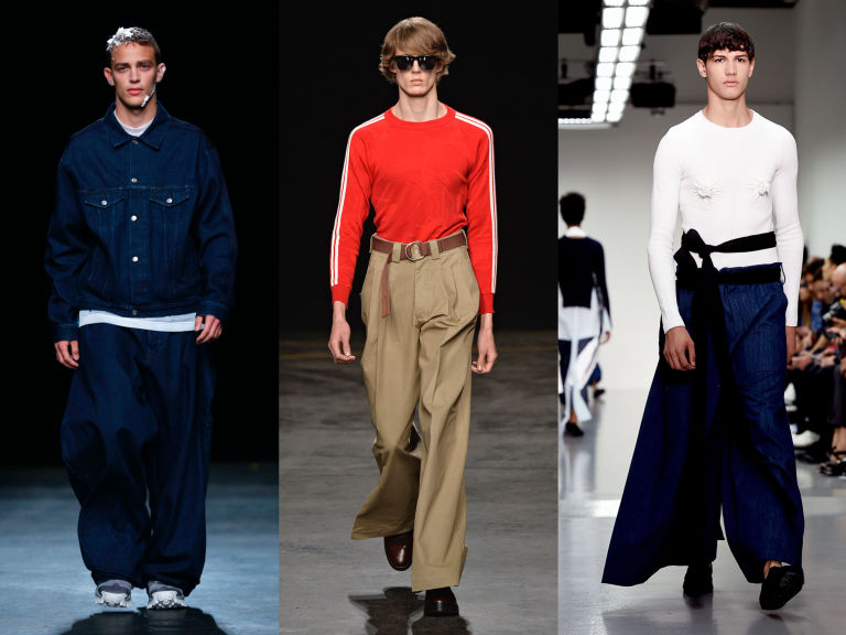 The Baggy Pants Trend Is Real -- Baggy Pants Are Back as Part of ...