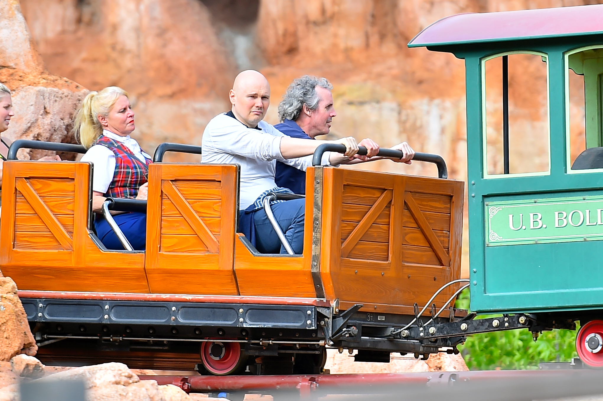 Billy Corgan Disneyland Photo Photo Of Smashing Pumpkins