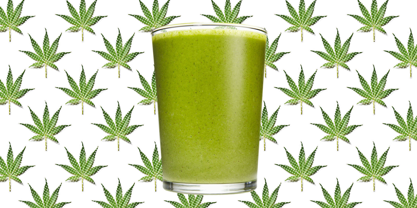 how to make a weed smoothie