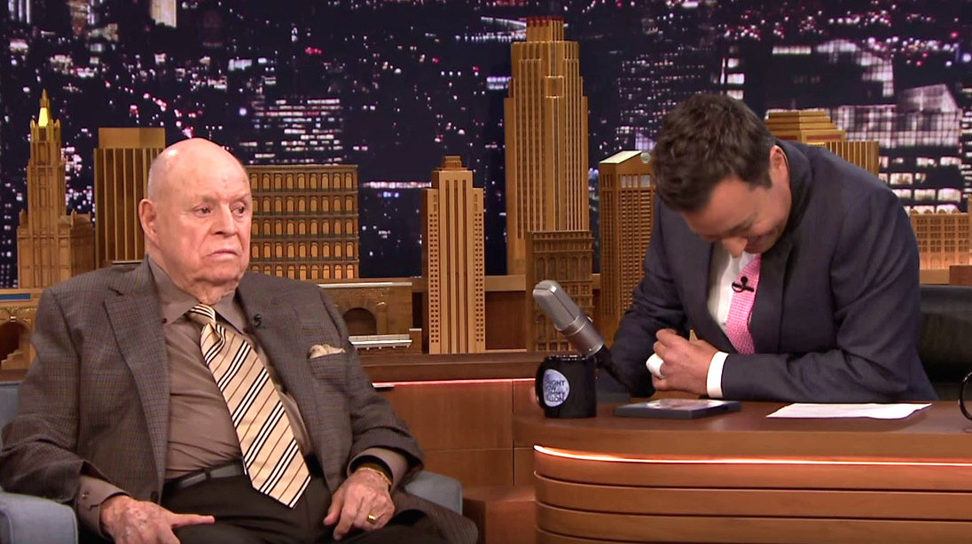 don rickles insults jimmy fallon and the roots and it 39 s spectacular. Black Bedroom Furniture Sets. Home Design Ideas