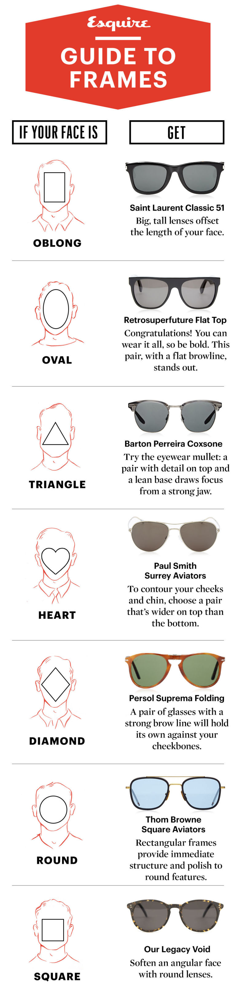 perfect glasses agt4  How to Pick the Best Sunglasses for Your Face