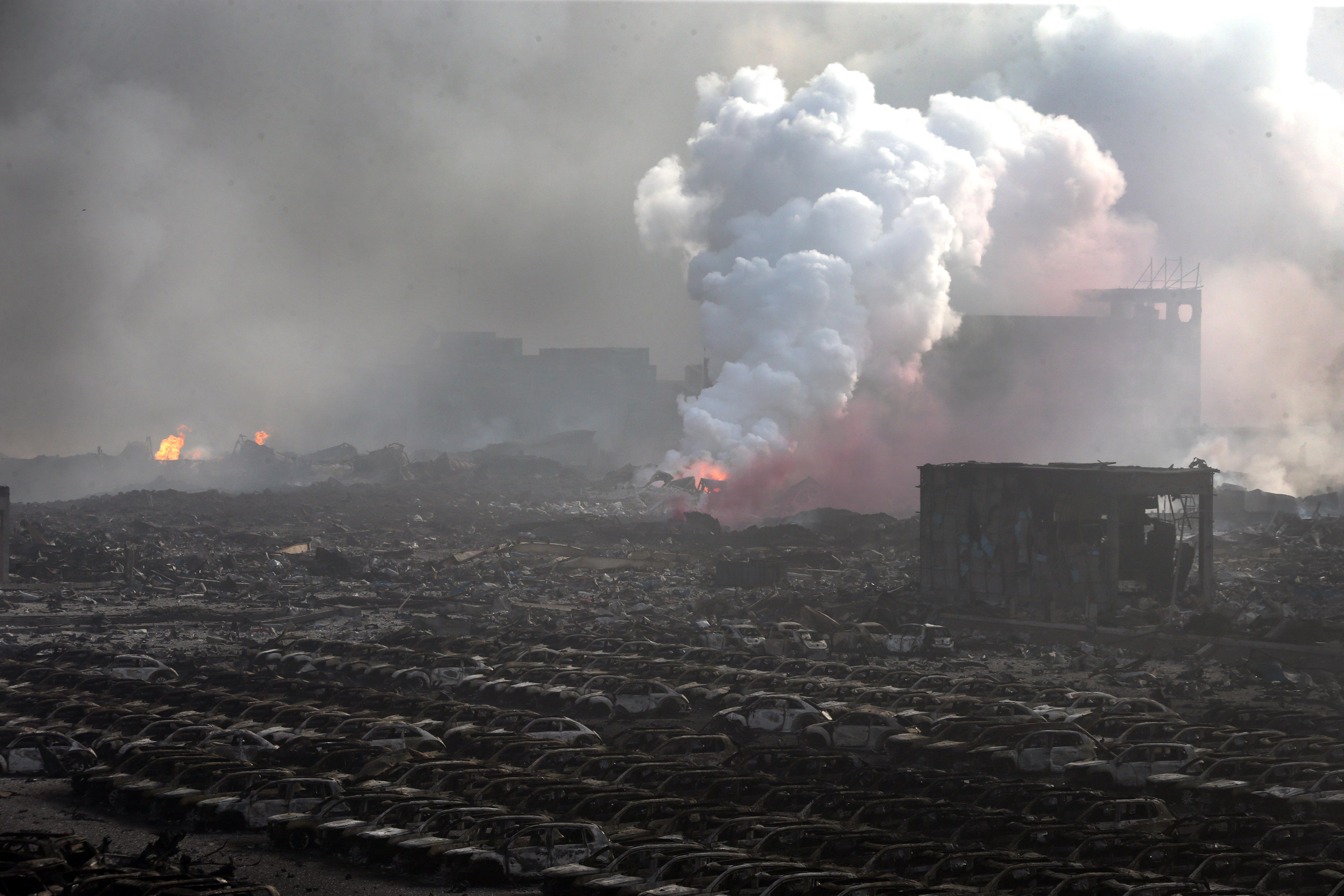 Tianjin Räjähdys