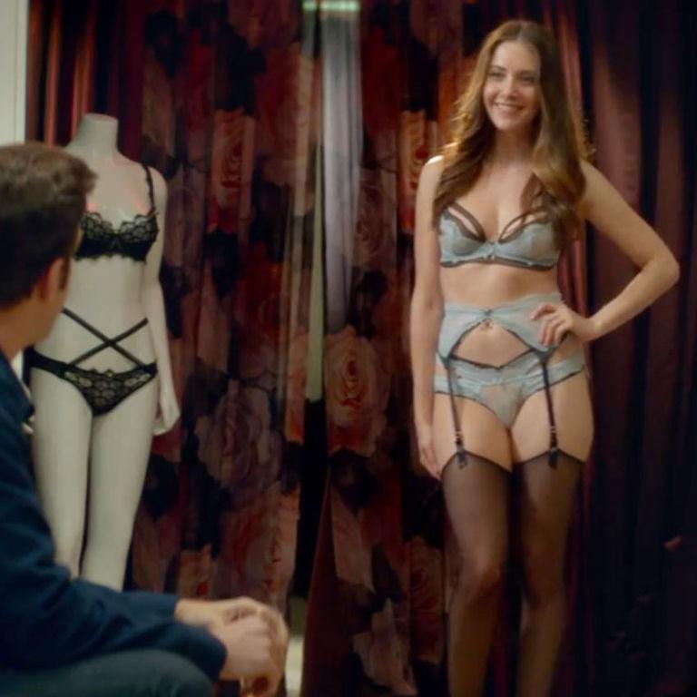 Alison brie lingerie