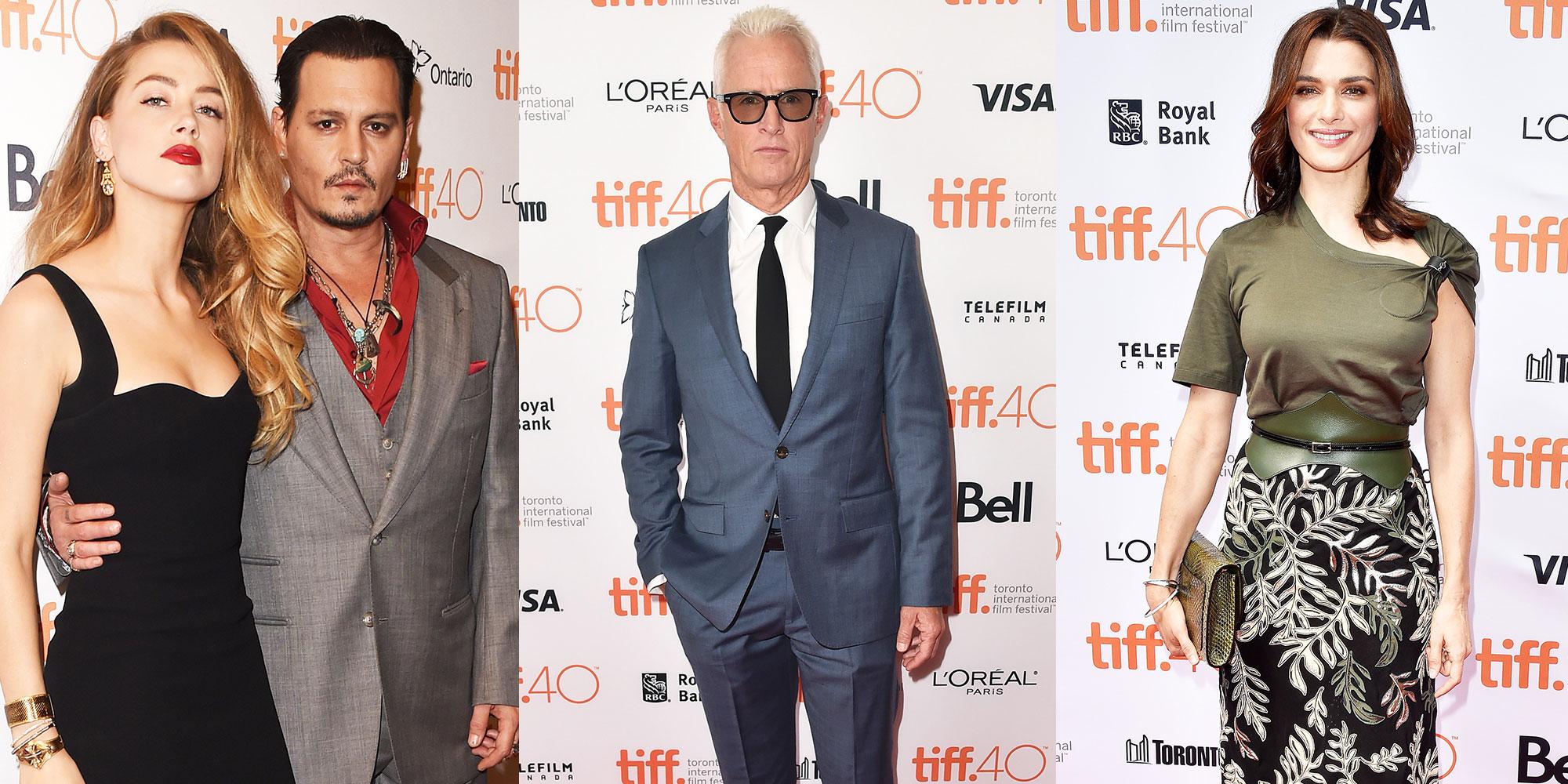 Stars at TIFF - Toronto Film Festival 2015 Red Carpet