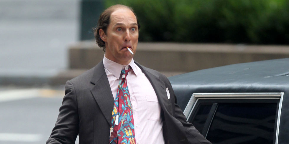 Matthew McConaughey's New Role: Bald Slob in a Cheap Suit ...