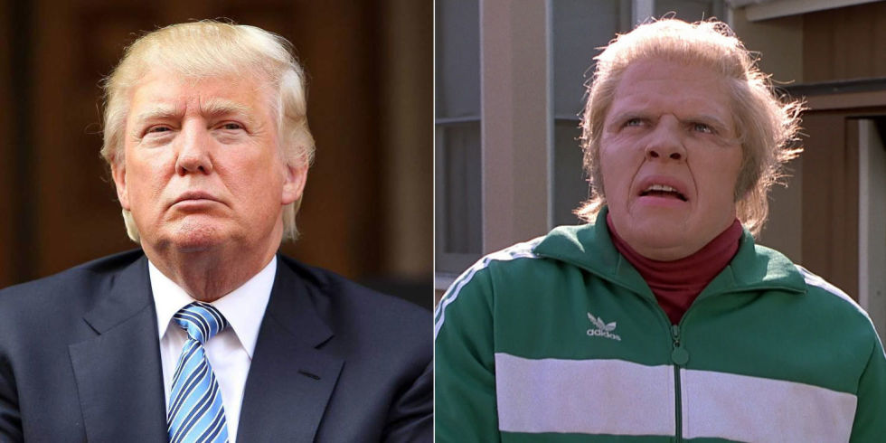 Image result for trump back to the future