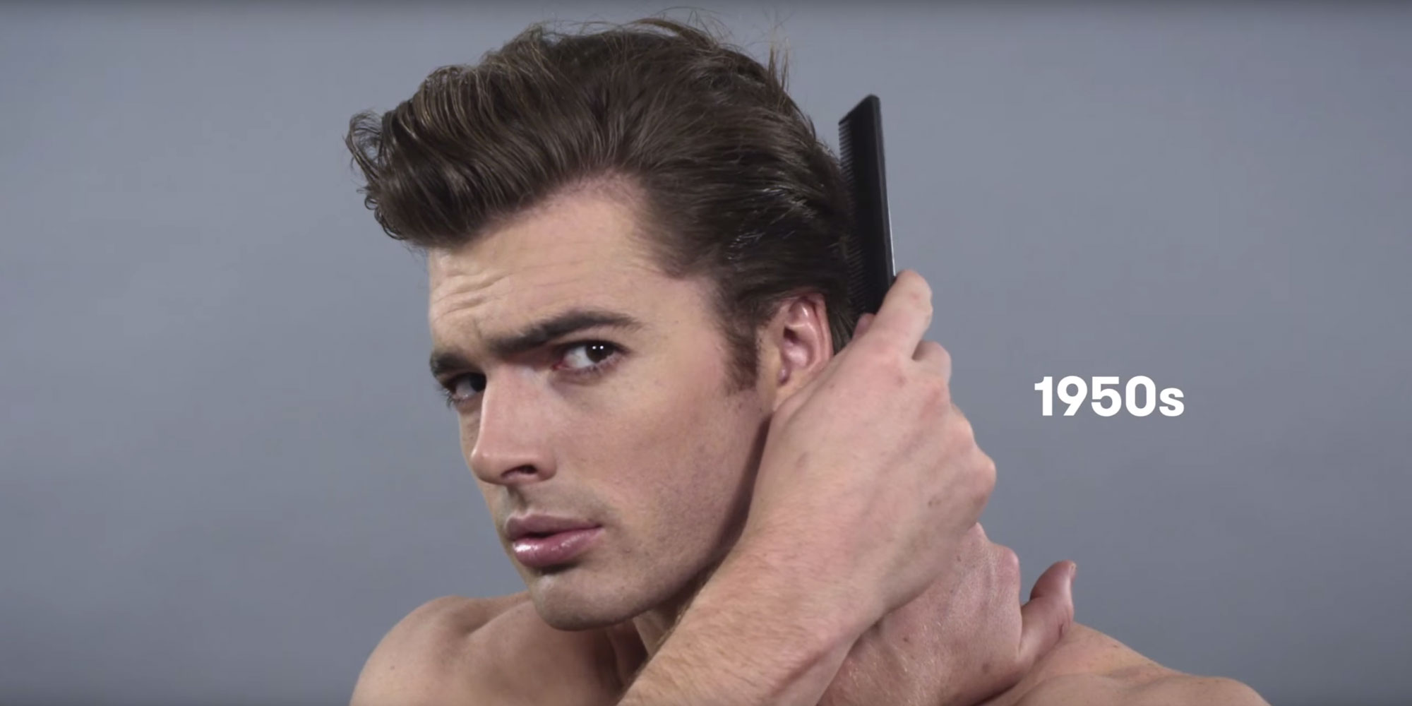 100 years of mens hairstyles