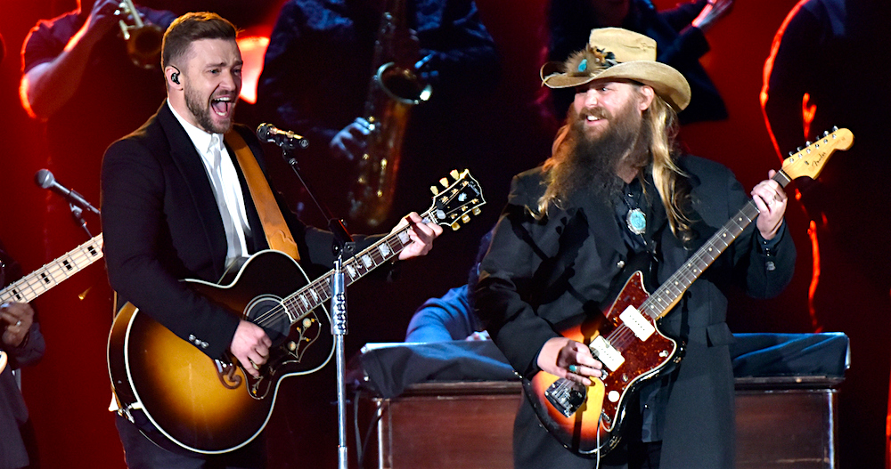 Can justin timberlake 39 s cma awards performance with chris for Tennessee whiskey justin timberlake