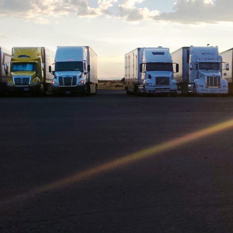 Long Haul Truck: The Long Haul: One Year Of Solitude On America's Highways