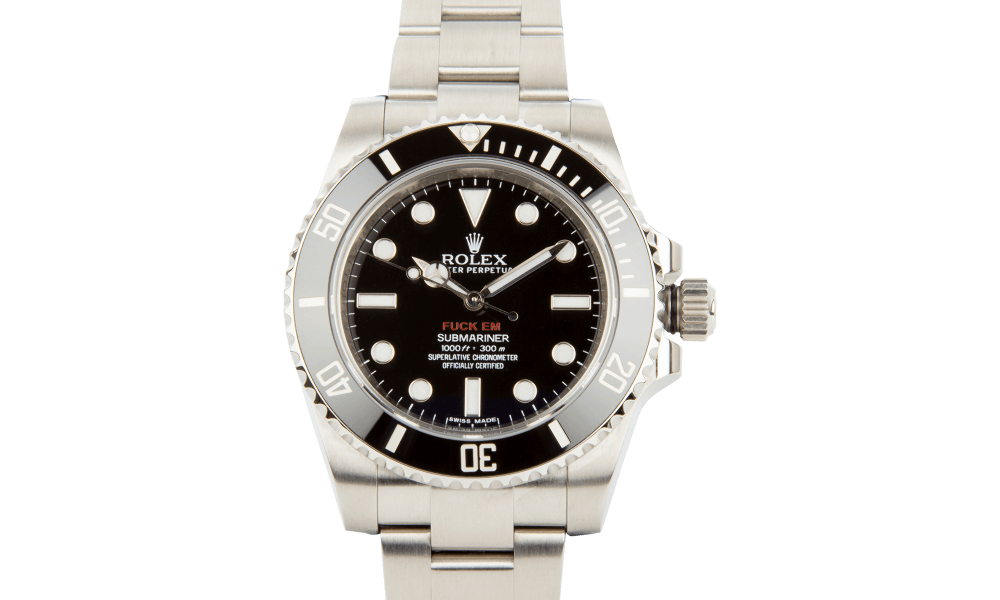 You Can Buy This Rare Beautiful Supreme And Rolex