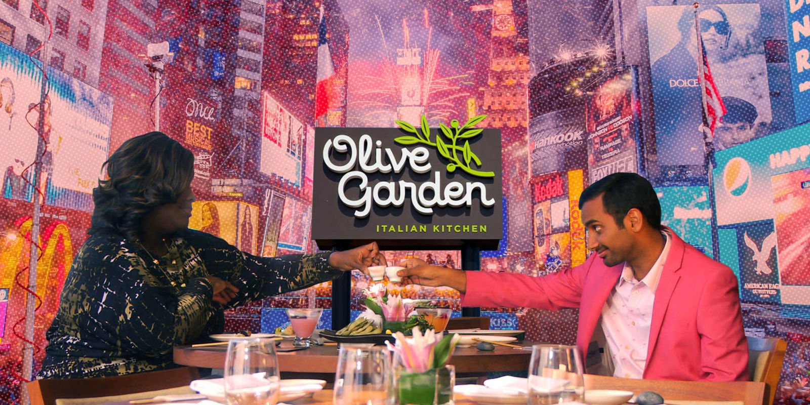 Times Square Olive Garden Olive Garden New Year 39 S Eve