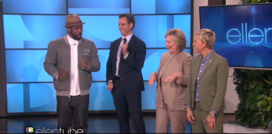 Hillary Clinton Dabbing on Ellen Is a Must-See