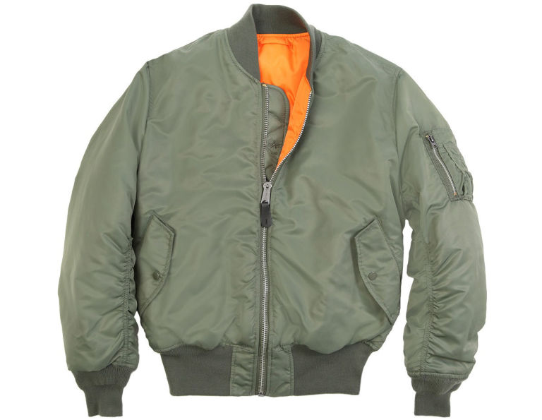 A Bomber Jacket - Coat Nj