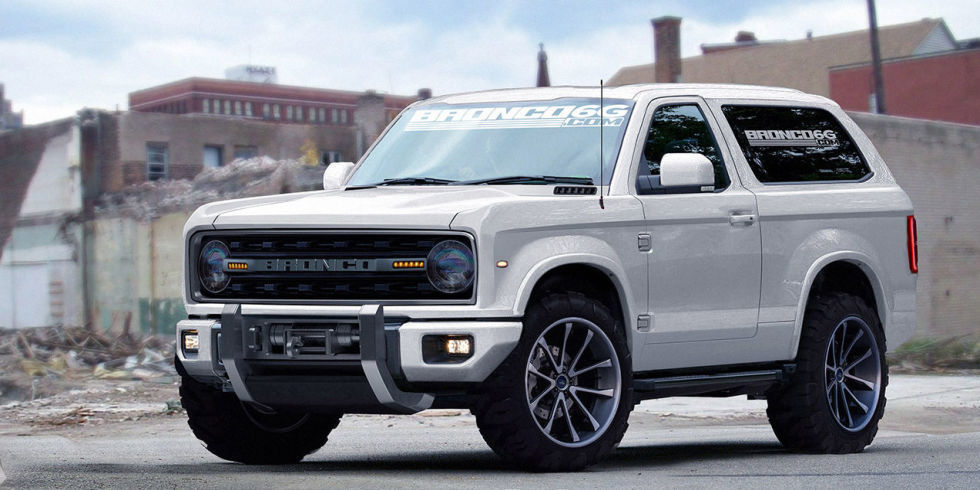 Bruh The New Ford Bronco Concept Is Badass As Hell Ign