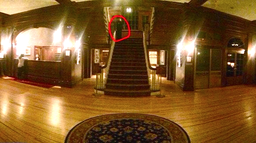 Ghost In The Stanley Hotel That Inspired The Shining Appears To Be Captured On Camera