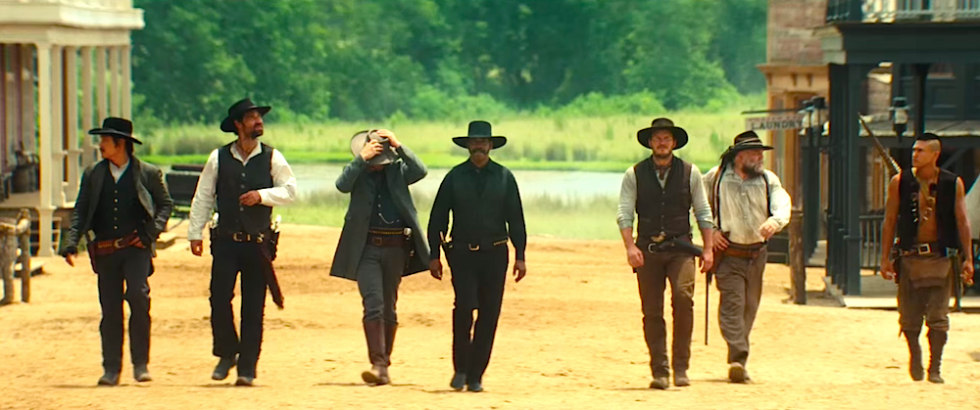 Image result for the magnificent seven 2016