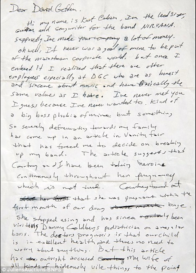 bio of kurt cobain essay Kurt cobain was hailed by fans as a spokesman for his generation  who has  completed six years of study in molecular biology but is now heading for alaska  to  when he learned that his song, polly, an ironic essay with a.