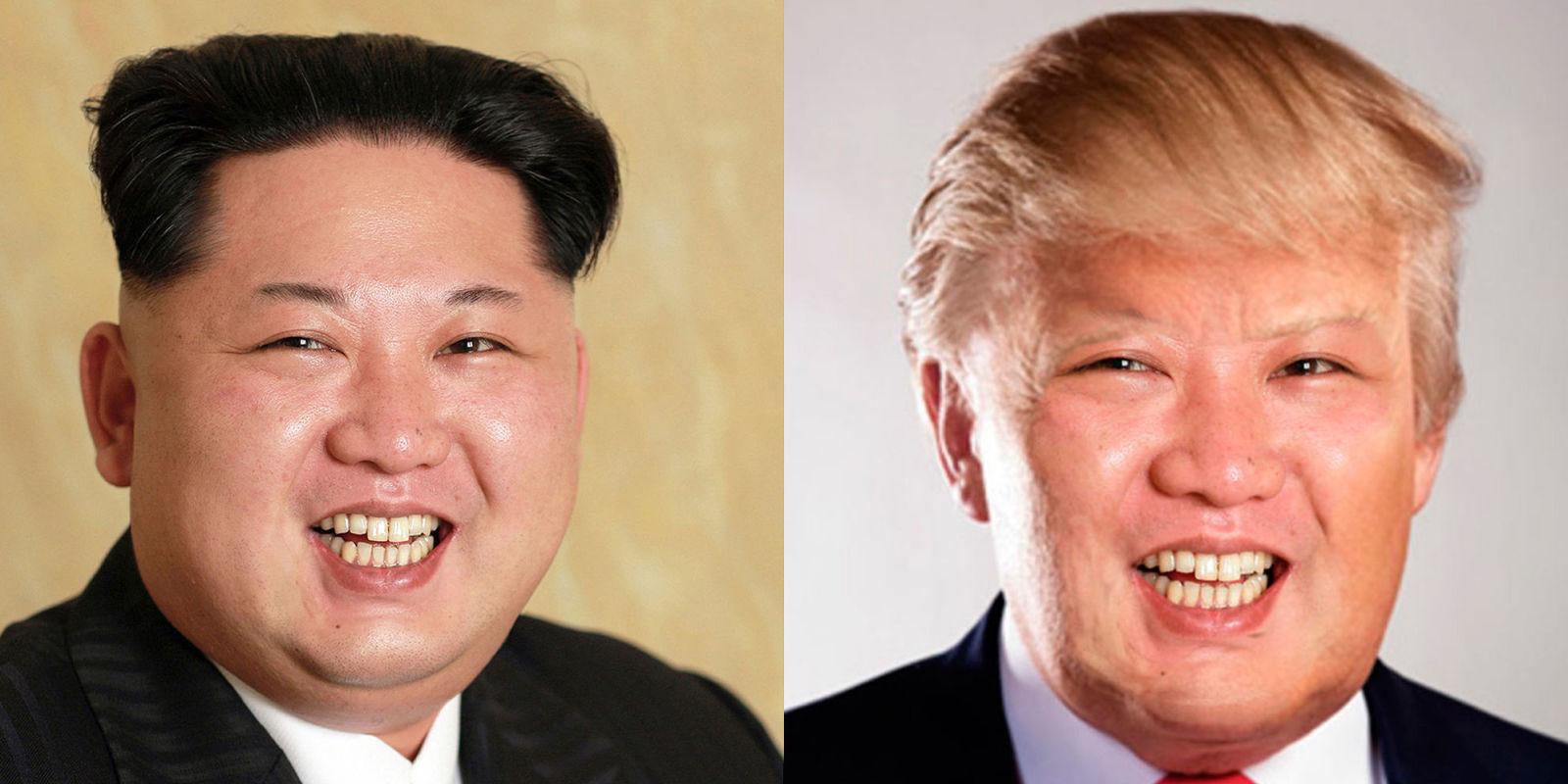 Kim Jong Un with Trump Haircut - Image Copyright Cdn.Co