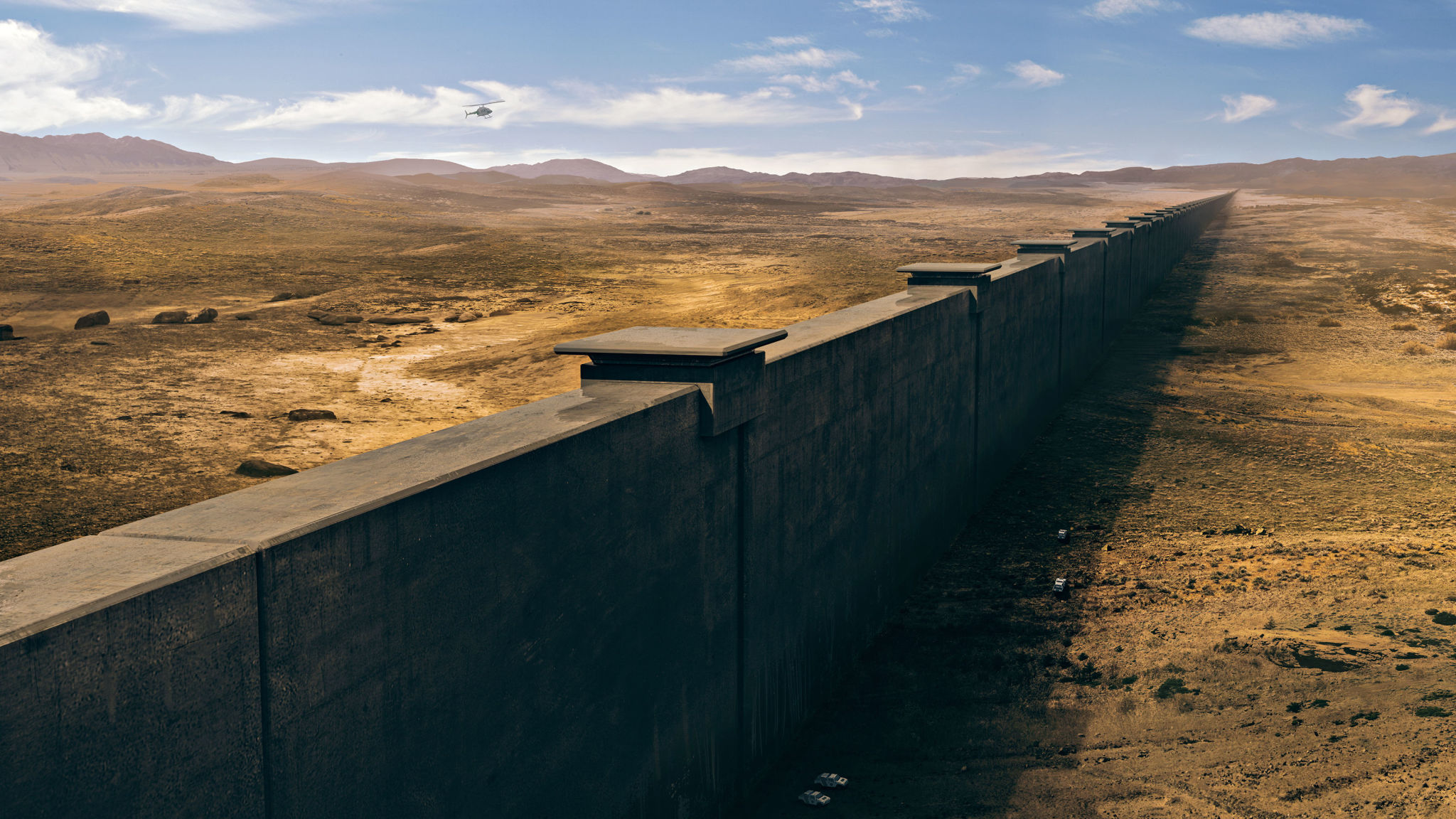 Look Where They Re Starting The Border Wall This