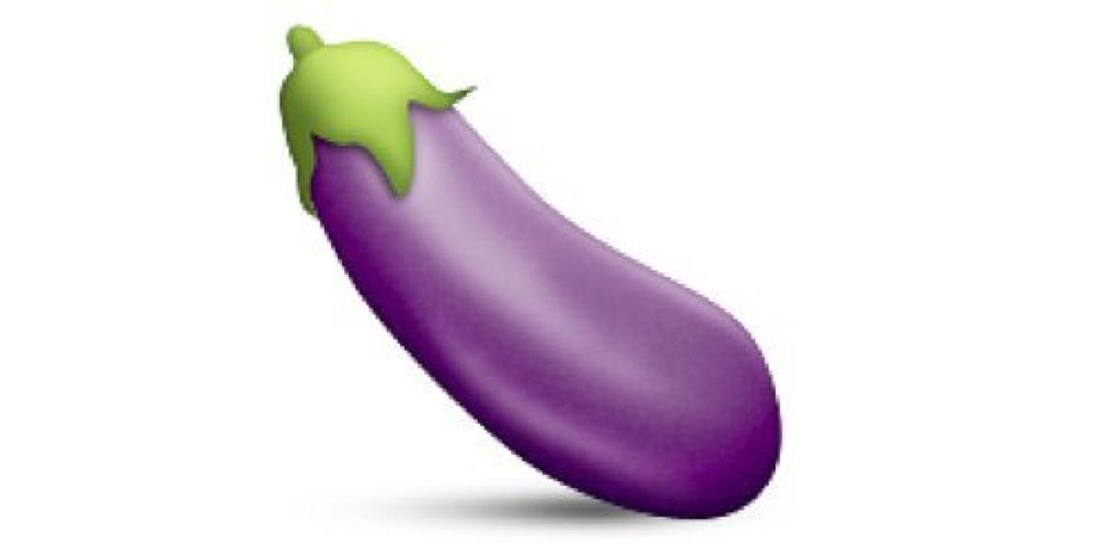 eggplant emoticon - photo #3