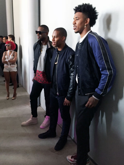 Lakers Star Swaggy P Says Goodbye To Paris Fashion Week
