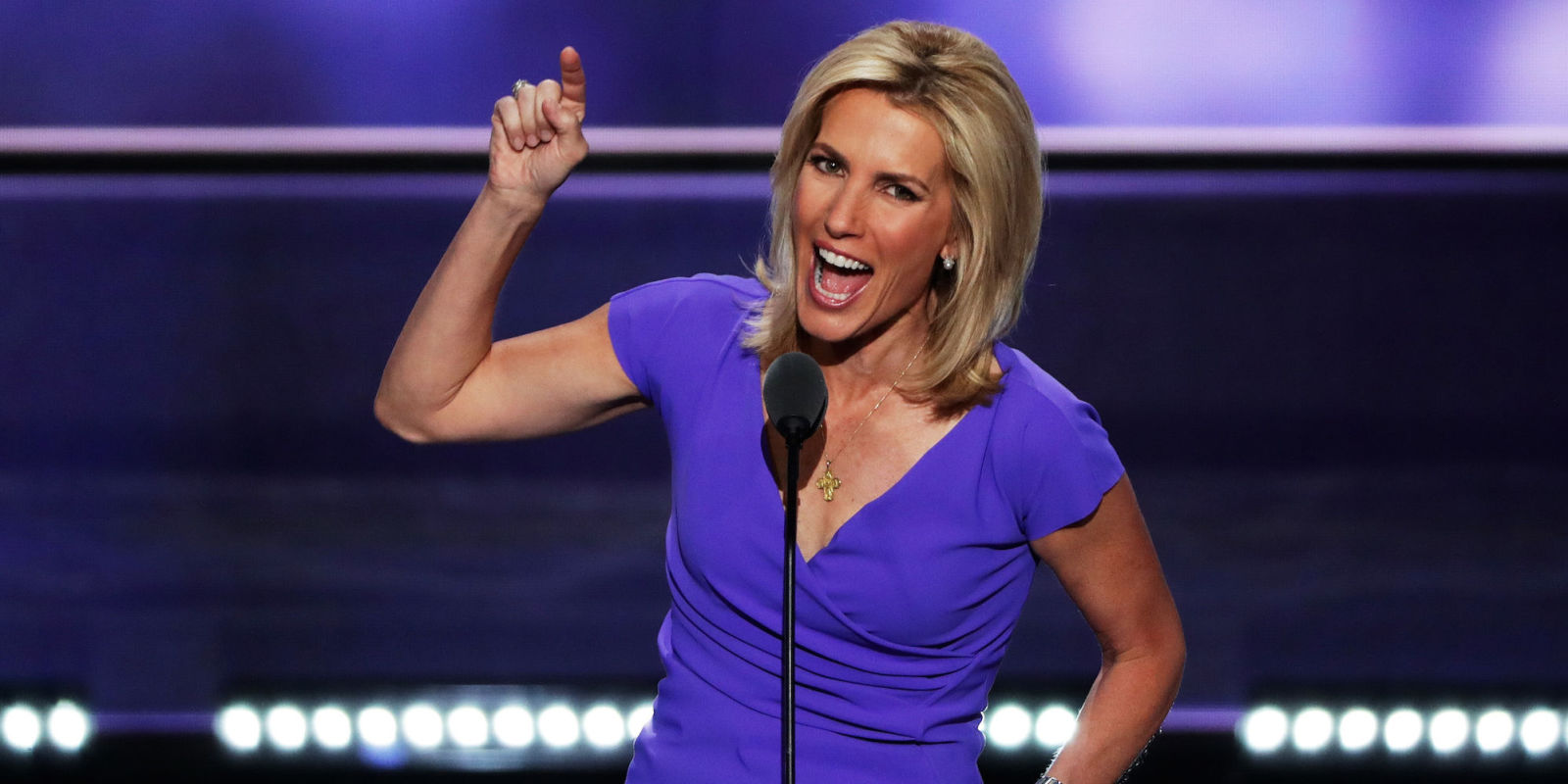 Did Laura Ingraham Mean to Make This Gesture?