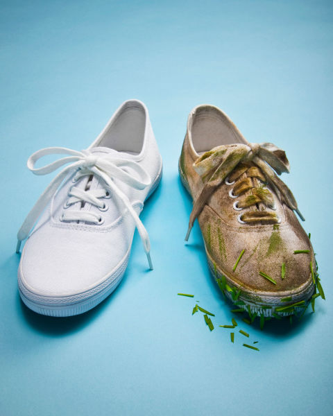 can you machine wash sneakers