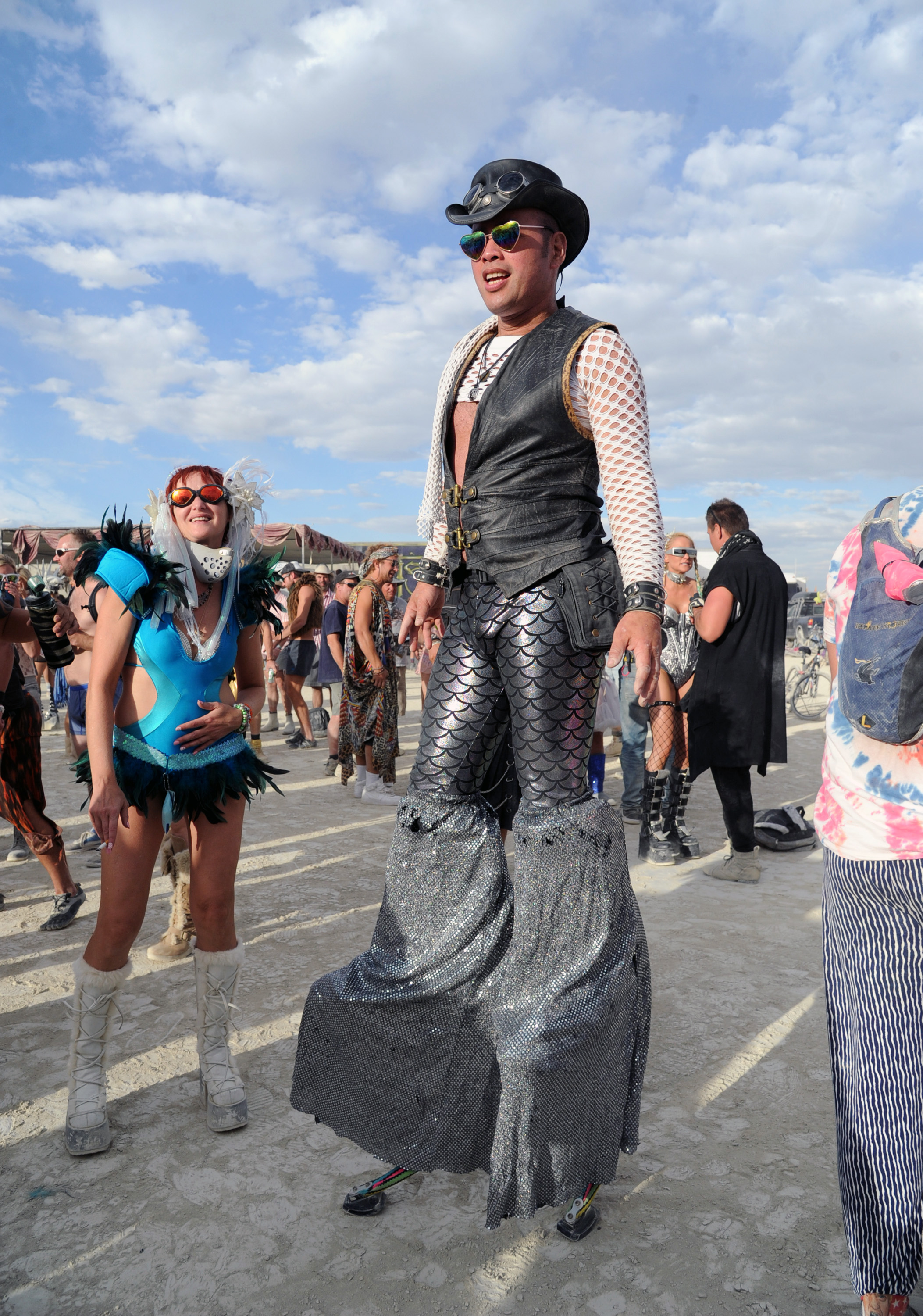 The Most WTF, NSFW Style Moves at Burning Man 2016