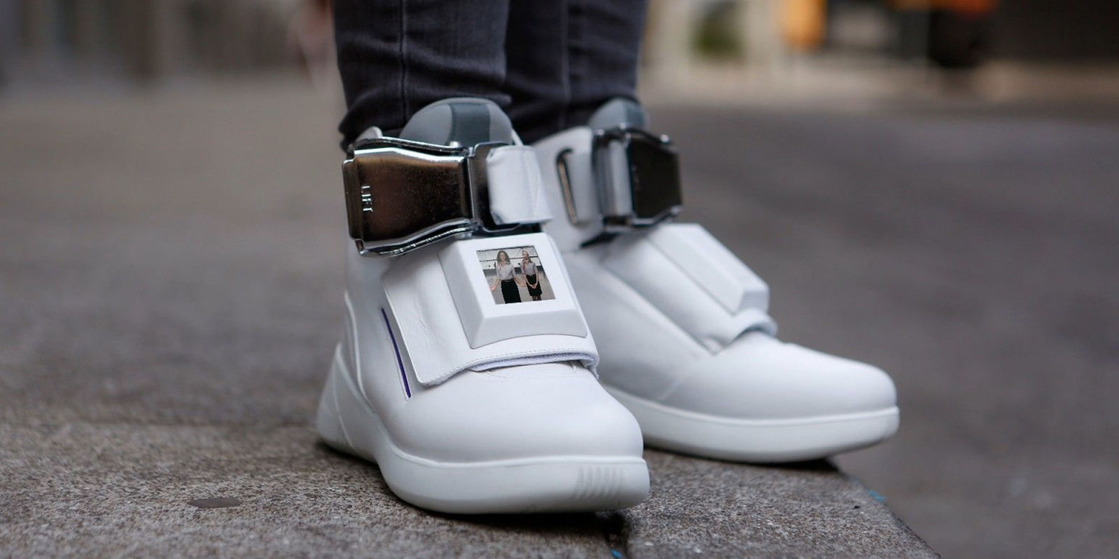 These Over-the-Top Sneakers Feature Built-In TVs