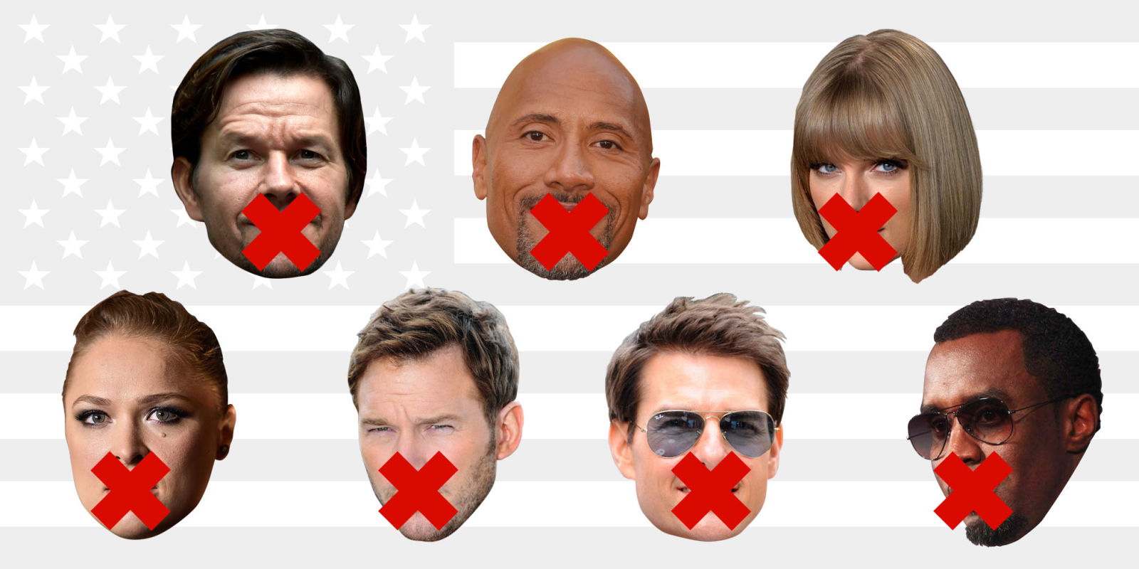 Celebrities React To Hillary Losing Election - YouTube