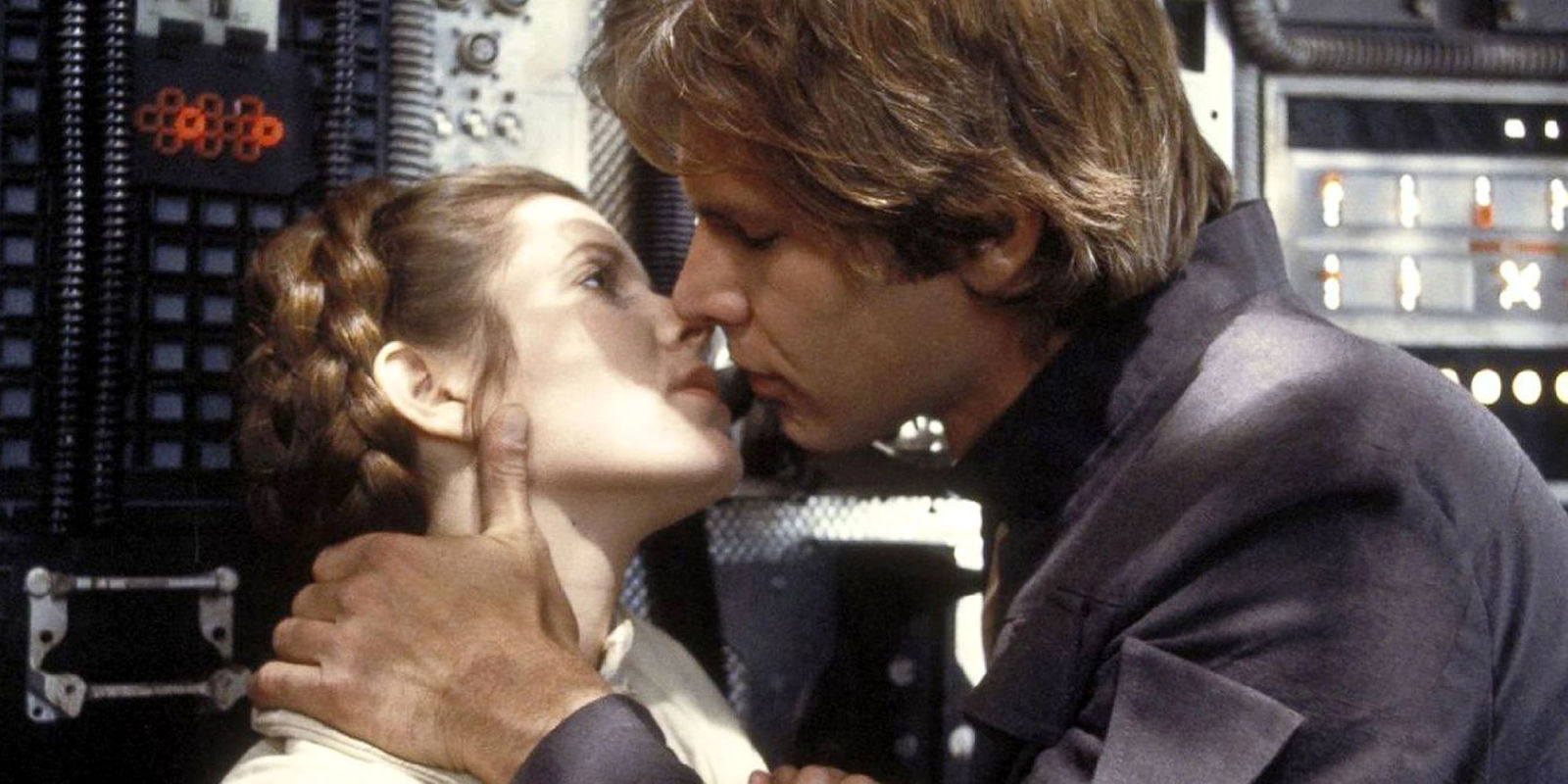 Carrie Fisher Describes Kissing Harrison Ford on the Star ...