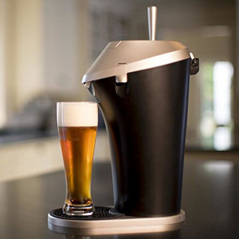 $170 BUY NOWThe Fizzics Revolutionary Beer System creates draft quality beer at home from regular cans and bottles. It improves the carbonation and aroma, and creates a foam as the beer is poured. It uses batteries so it's completely portable, which means it's perfect for outdoor gatherings and tailgating.