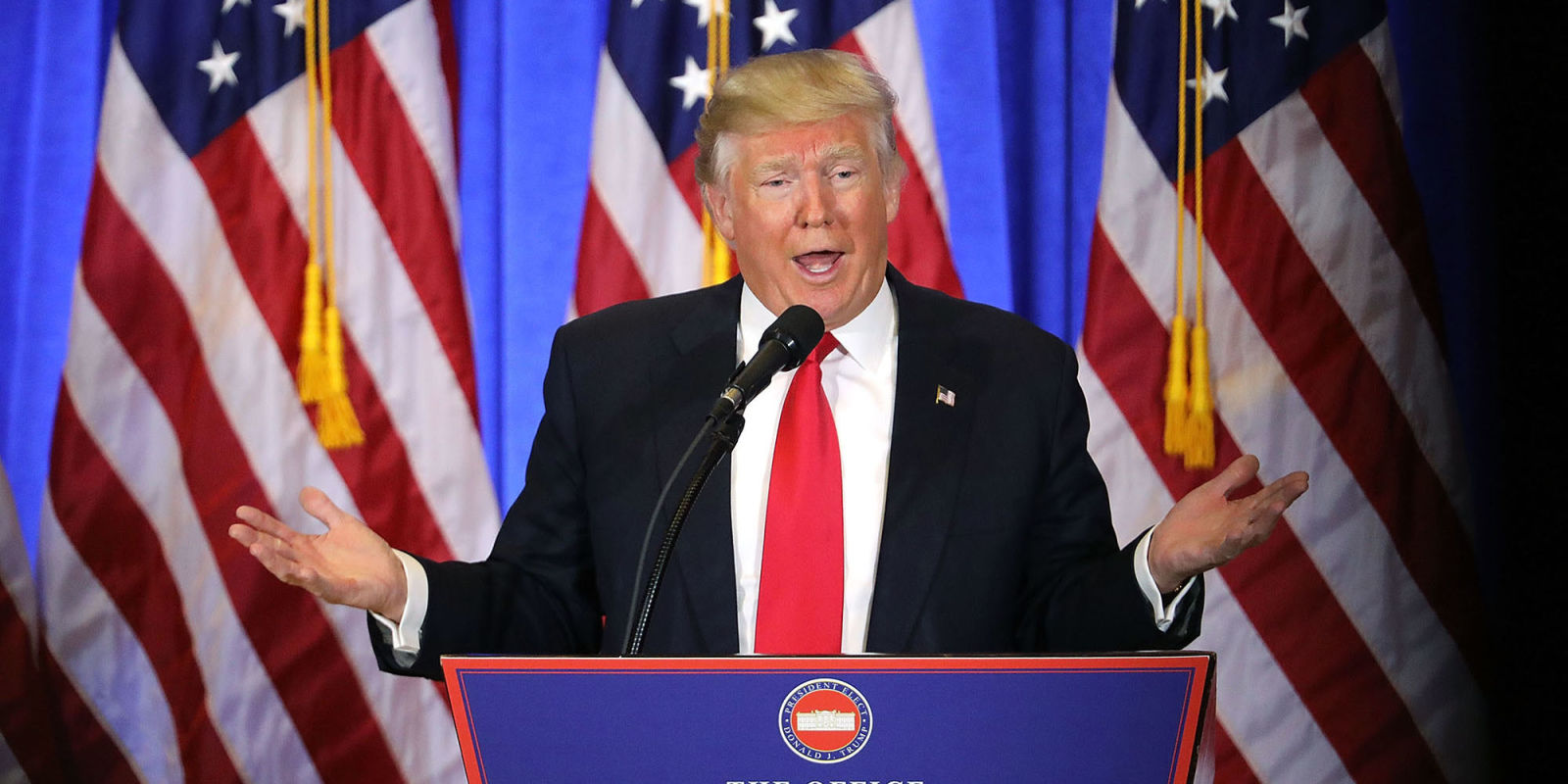 Donald Trump Press Conference Was a Live Performance from an Aspiring American Dictator