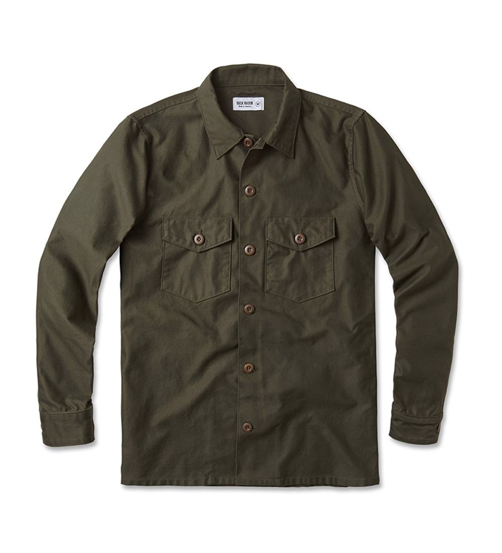 Best made in america clothing for men men 39 s made in the for Mason s men s shirts