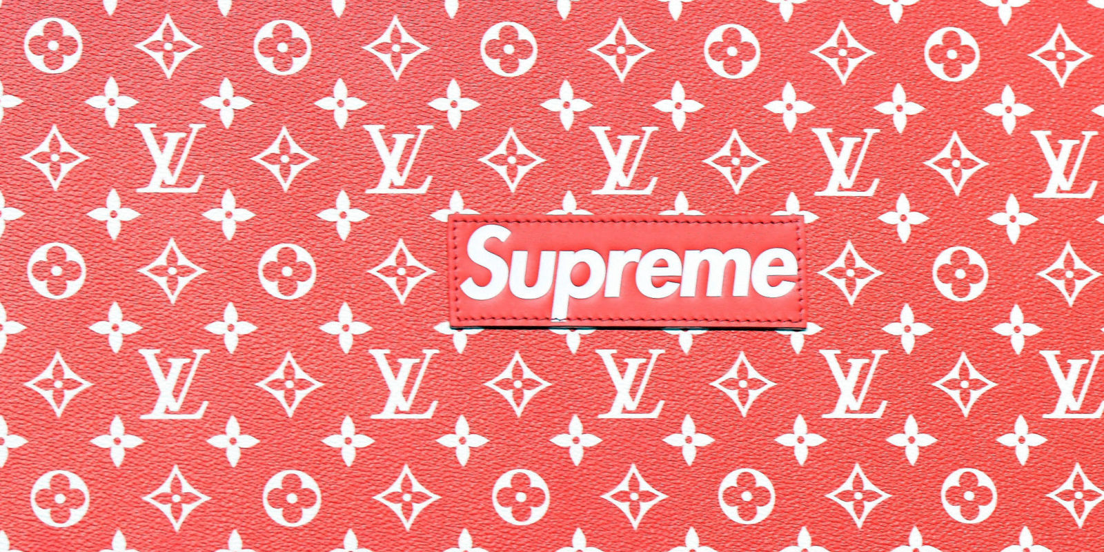 louis vuitton x supreme makes its official debut. Black Bedroom Furniture Sets. Home Design Ideas
