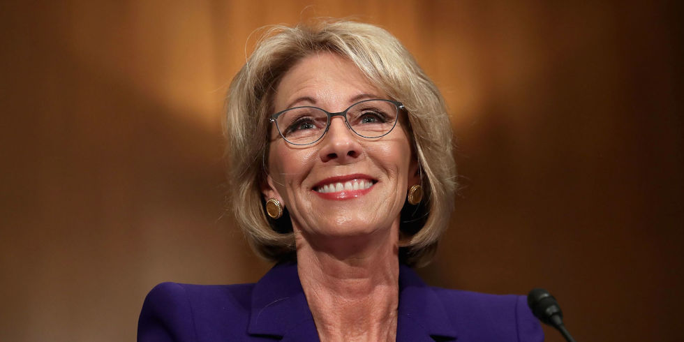 Betsy DeVos earned a 0.2 million dollar salary - leaving the net worth at 5.1 million in 2018