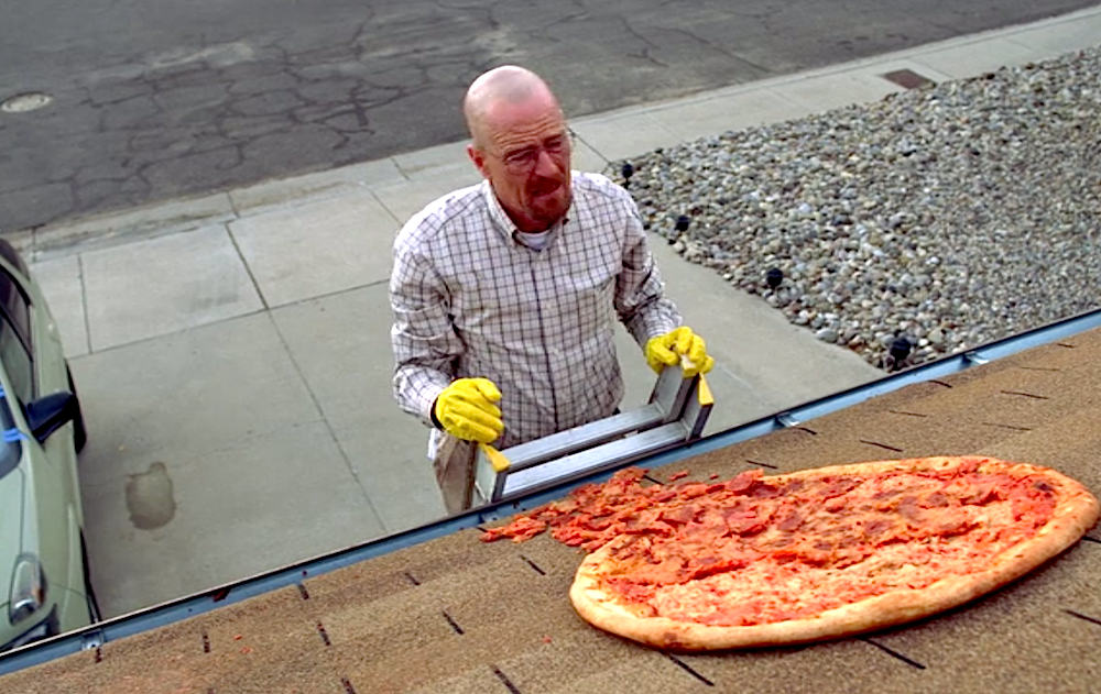 Vince Gilligan Explains That Unsliced Pizza on 'Breaking ...