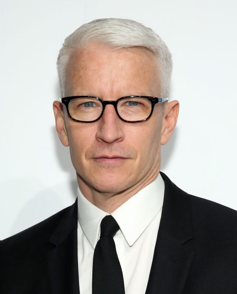Anderson Cooper - 10 Best Mens Haircut Ideas For 2017 - Celebrity Hairstyles For Men
